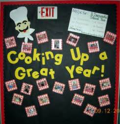 Cooking School Bulletin Board Ideas