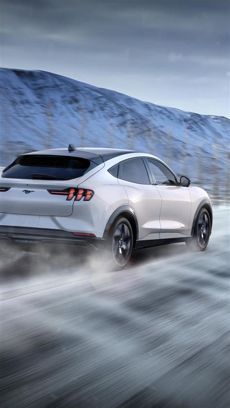 wallpaper ford mustang mach  suv  cars electric