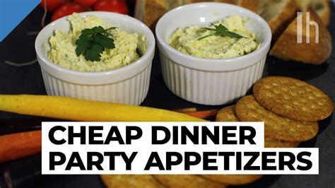 Easy To Make Appetizer Recipe  Cheap Dinner Party Youtube