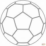 Coloring Soccer Ball Pages Supercoloring Printable Drawing Games Paper sketch template