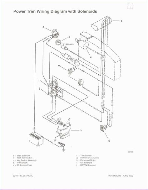60 Hp Mercury Outboard Wiring Harnes Diagram by 60 Fresh Mercury Outboard Power Trim Wiring Diagram Images