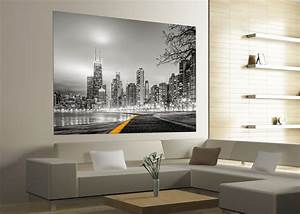 xxl poster fototapete tapete new york skyline nyc foto 160 With markise balkon mit skyline tapete new york