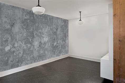 rollout  materialism wall covering basement ideas