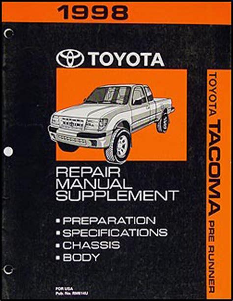 motor repair manual 1998 toyota tacoma auto manual 1998 toyota tacoma pickup wiring diagram manual original