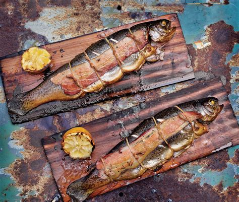how to smoke trout recipes steven raichlen s project smoke cowboys and indians magazine