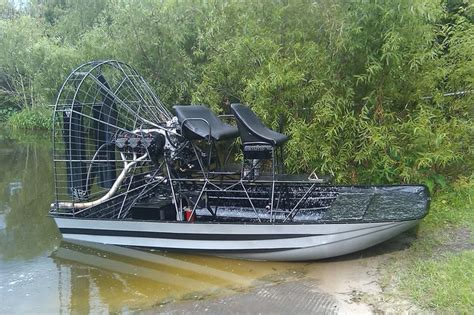 Airboat Exhaust by William Hulls Southern Airboat