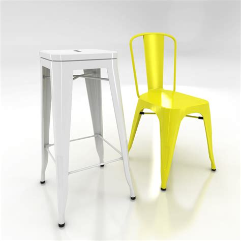 chaise xavier pauchard 3d xavier pauchard tolix chair stool