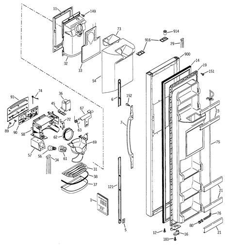 ge gssjembcc side  side refrigerator parts sears