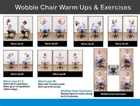 pettibon wobble chair exercises wobble chair exercises