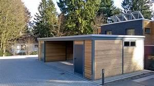 Carport Holz Modern : reihencarport und carport mit seitlichem abstellraum carporthaus ~ Markanthonyermac.com Haus und Dekorationen