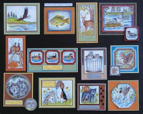 northwoods wildlife stamps   krafts  images