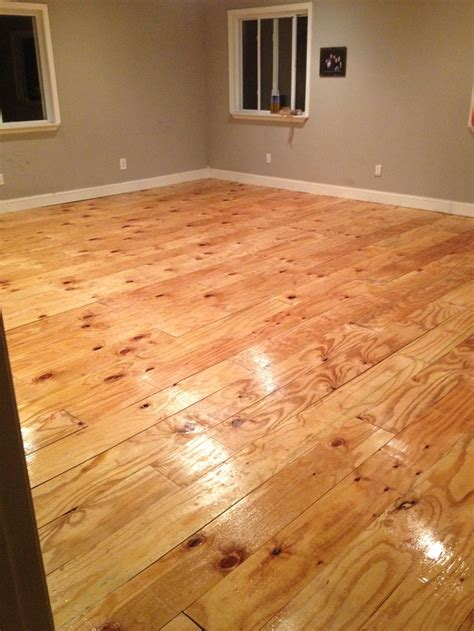 flooring plywood diy plywood plank floor hearth and home pinterest