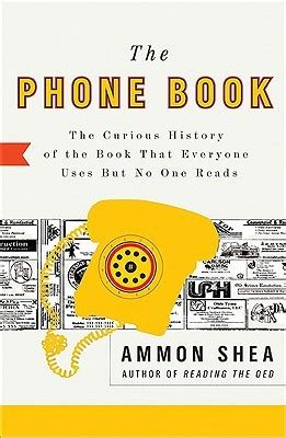 phone book  curious history   book