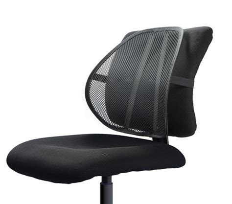 easy posture lumbar back support mesh furniture office