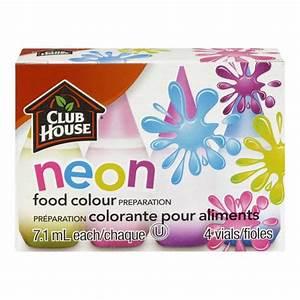 Club House Neon Food Colour Preparation