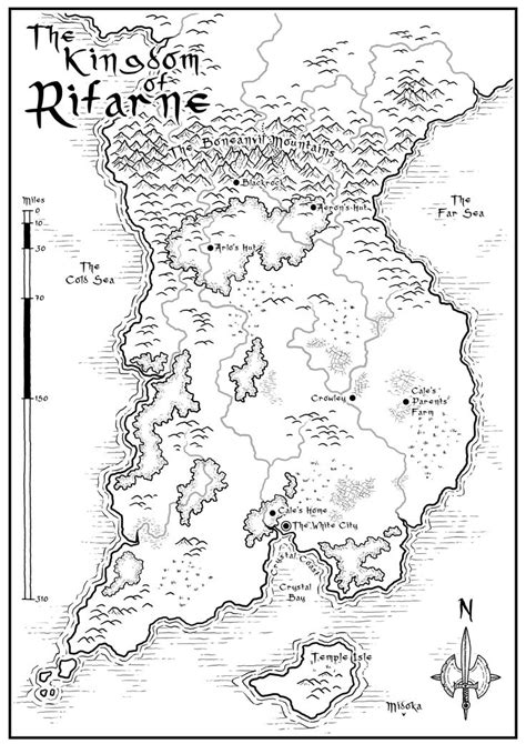 World-Building in Fantasy Fiction - How to Name Countries ...