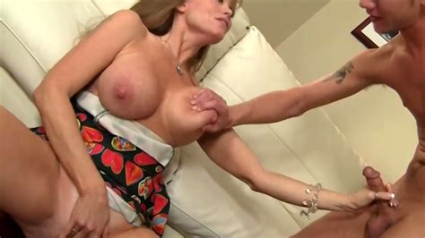 Mature Seduces Younger Guy