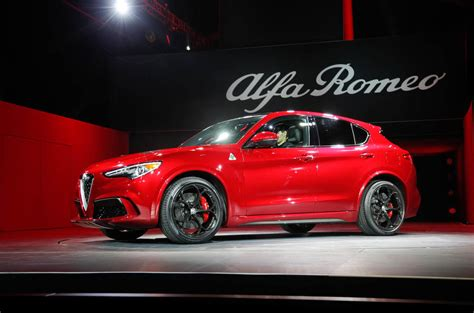 alfa romeo stelvio quadrifoglio updated  dynamic
