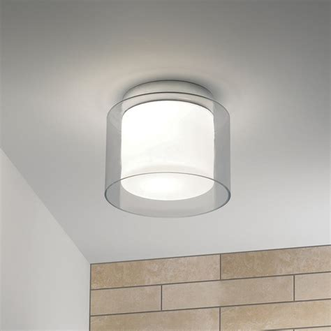 astro lighting 0963 arezzo ip44 glass bathroom ceiling light