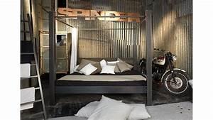 Bett Metall Schwarz : himmelbett daisy spinder design metall schwarz stahl ~ Yasmunasinghe.com Haus und Dekorationen