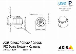 Axis Q6055 Indoor Ptz Dome Network Camera 0907
