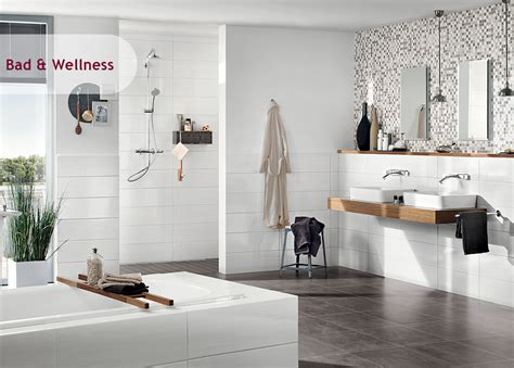 Weiße Wandfliesen Bad by Inspiration Bad Wellness Iga Die Welt Der Fliesen