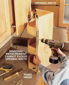 kitchen cabinets layouts how to build pull out shelves for a blind corner cabinet 3064