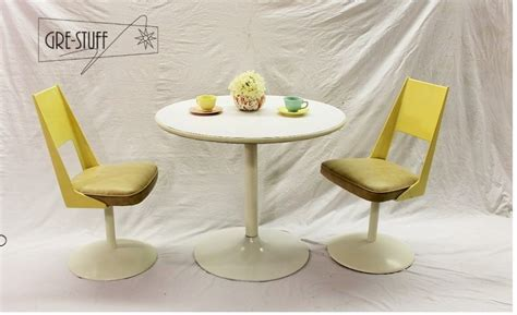 tulip table and chairs dinette set