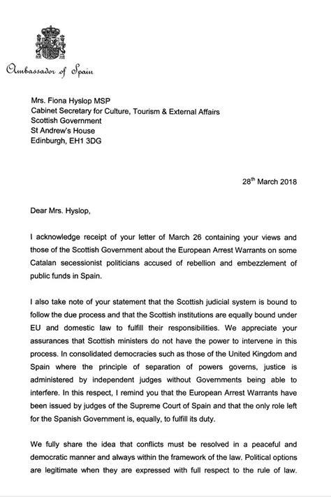 "Embassy of Spain UK on Twitter: ""Read the Ambassador's"