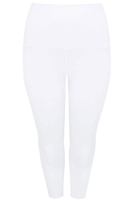 biale legginsy wyszczuplajace brzuch  wiskozy  elastanu