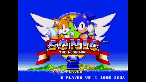 Sonic the Hedgehog 2 - SEGA Genesis/Mega Drive - Tails ...