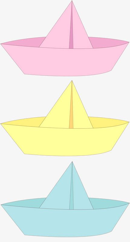 Origami Boat Clipart by Origami Boat Color Boat Origami Png Image And Clipart