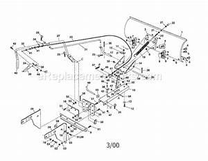 Craftsman 48624443 Parts List And Diagram