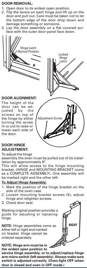 door microswitch  ge monogram wall oven  electric       model