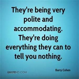 Being Polite Quotes. QuotesGram