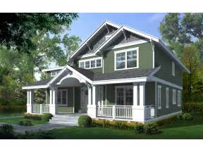 craftsman bungalow house two story craftsman house plan