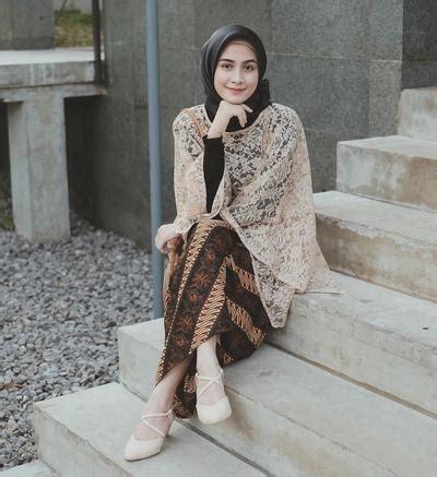 lho pilihan atasan brokat hijab kekinian