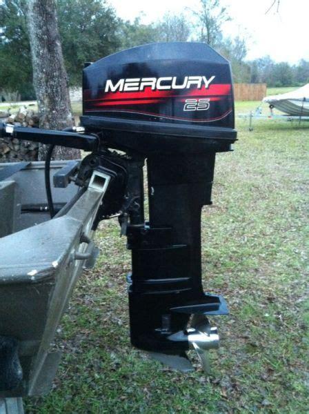 Outboard Motor Repair In Baton Rouge by 1999 Mercury 25 Hp 2 Stroke Outboard Motors For Sale In