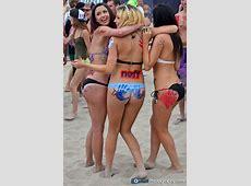 Sexy Bikini girls US Open of Surfing no place I'd