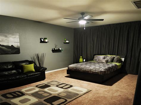 0 bedroom ideas in black and grey decorating excerpt