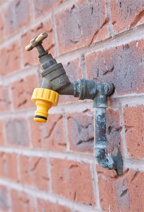 Outside Faucet Winter by How To Winterize The Exterior Of Your Home