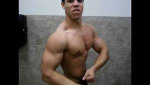 15 Year Old Bodybuilder Posing
