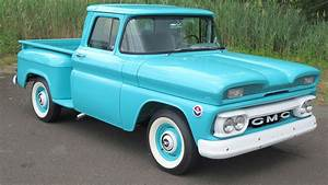 1960 Gmc 1000 Fenderside Pickup