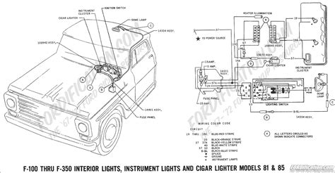 1971 F100 Charging System Wiring Diagram by Ford Truck Technical Drawings And Schematics Section H