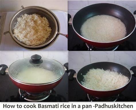 how to cook rice how to cook basmati rice padhuskitchen