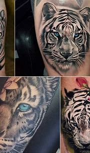 Tiger Tattoo Designs - Combination of Power, Wisdom and ...