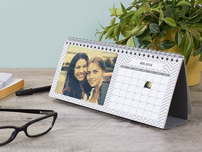 calendrier photo bureau qui veut tester le calendrier de bureau de photobox