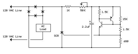Vac Lamp Dimmer Circuit Diagram Instructions