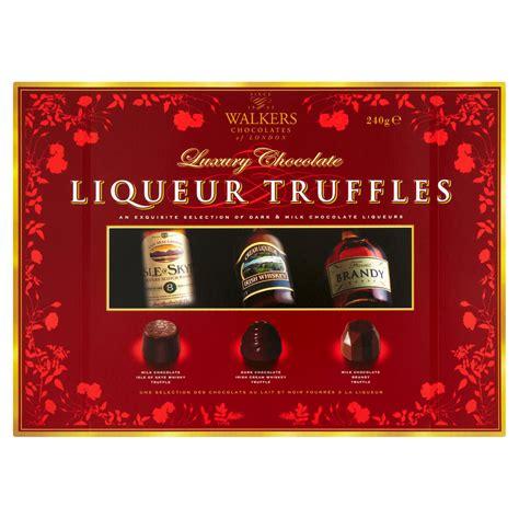 walkers chocolate chocolates iceland truffles liqueur 240g luxury