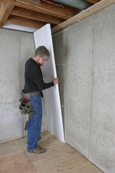 insulate  basement wall greenbuildingadvisor
